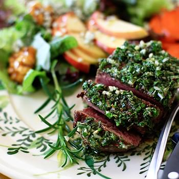 Seared Filet with Mixed-Herb Gremolata