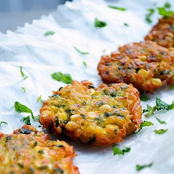 Potato & Corn Fritters