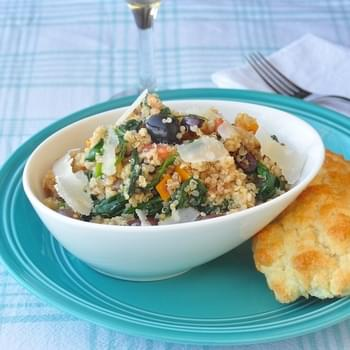 Spinach and Parmesan Quinoa