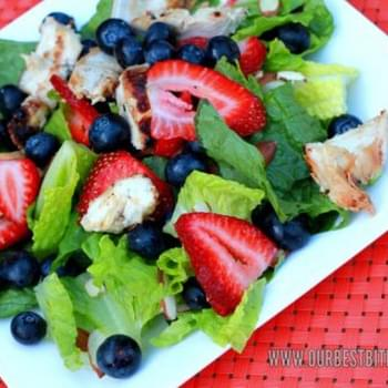 Grilled Chicken & Berry Salad