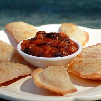 Easy Apple Pie Wontons