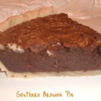Southern Brownie Pie