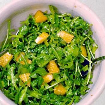 Orange Arugula Salad