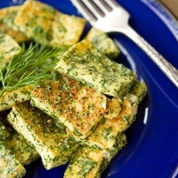 Easy Lemon Dill Tofu