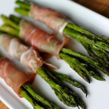 Asparagus Bundles with Proscuitto