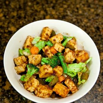 Fig Butter & Cumin Tempeh Stir Fry (vegan)