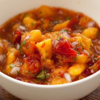 Peach and Peppadew Salsa
