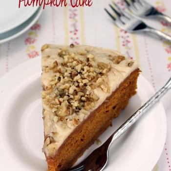 Spiced Pumpkin Cake with Brown Butter Icing
