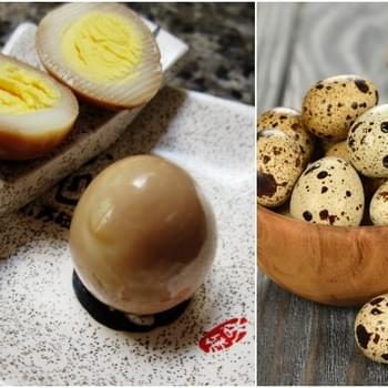 Toasted Sesame Asian Pickled Quail Eggs