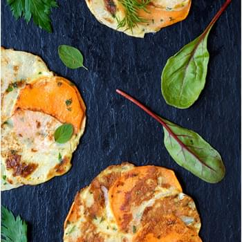 Yam and Turnip Galettes