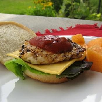 Cheesy Southwest Chicken Sandwiches