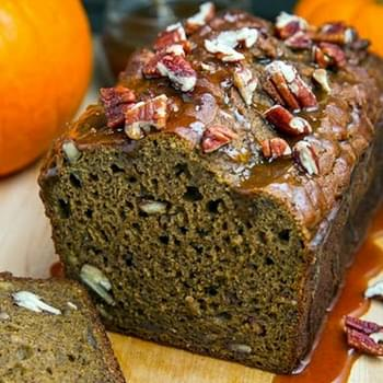 Pumpkin Greek Yogurt Banana Bread