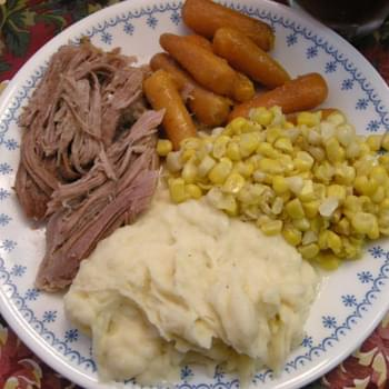 Slow Cooked Pork Roast