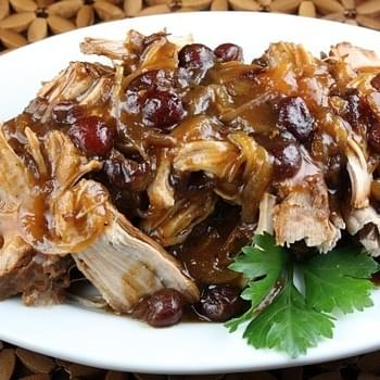 Crockpot Cranberry Pork Roast