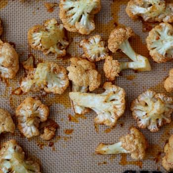 Garlic and Paprika Roasted Cauliflower