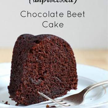 Dark Chocolate Beet Bundt Cake
