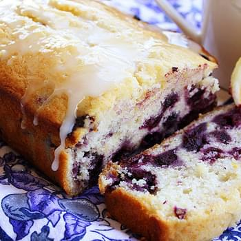 Lemon Blueberry Breakfast Bread