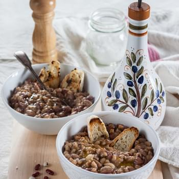 Tuscan Bean Soup With Farro