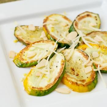 Zucchini Salad with Lemon, Almonds, and Parmesan