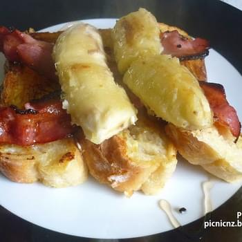 Bacon and Banana French Toast