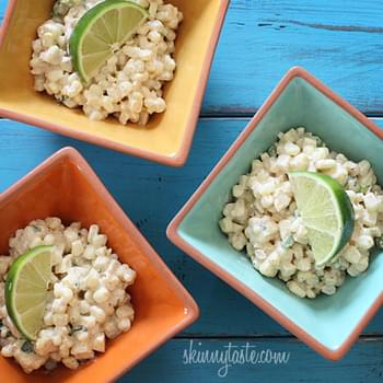 Warm Mexican Corn Salad