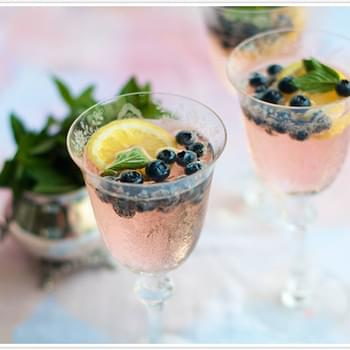 Blueberry-Lemon Fizz