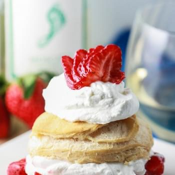 Moscato Strawberry Shortcakes