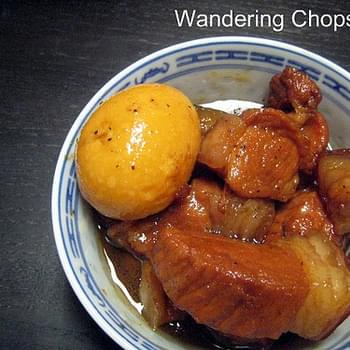 Thit Heo Kho Trung (Vietnamese Braised Pork With Hard-Boiled Eggs)