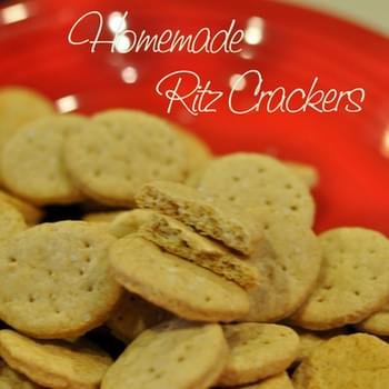 Homemade Whole Wheat Ritz Cracker