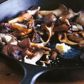 Pan-Roasted Mushrooms