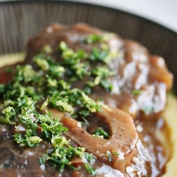Osso Bucco Style Braised Beef Shanks