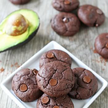 Vegan Chocolate Avocado Cookies