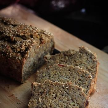 Healthy Banana Bread (Whole Wheat, Vegan, Oil-free & Sugar-free)