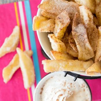 Apple Fries (a LegoLand Copycat Recipe)