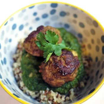 Indian Spiced Meatballs