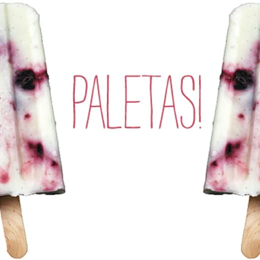 Sour Cream, Cherry, Tequila Ice Pops