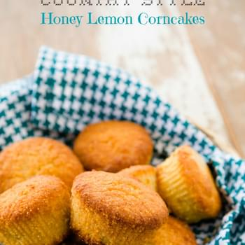 Country Style Honey Lemon Corncakes