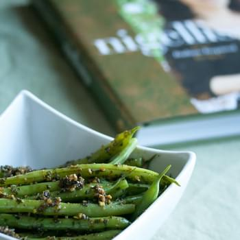 Nigella's Green Beans with Pistachio Pesto