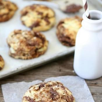 Easy drop biscuits with a sweet Nutella swirl!