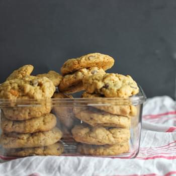Thick and Soft Oatmeal Chocolate Chip Cookies