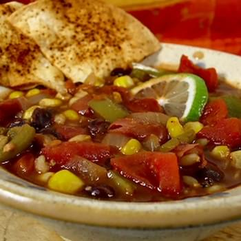 Red, Gold, Black And Green Chili