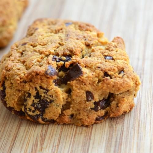 Grain-Free Dark Chocolate Cherry Scones