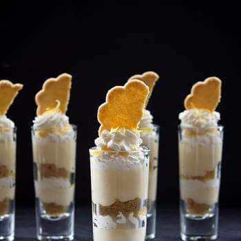 Lemon Cheesecake Trifles