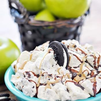 Peanut Butter Oreo Apple Salad