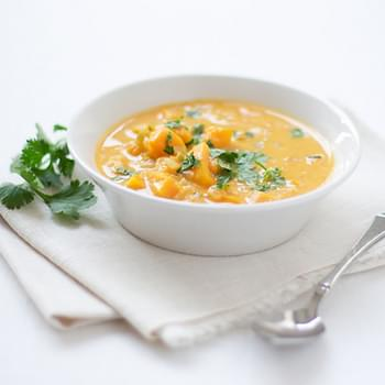 Butternut Squash and Coconut Curry