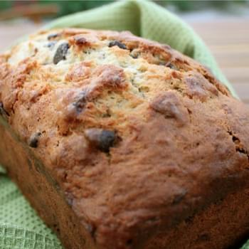 Banana and Chocolate Chip Bread