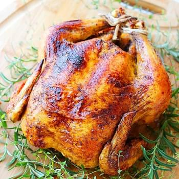 Easy Herb Roasted Chicken