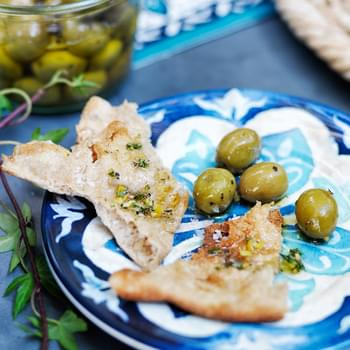 Flatbread with Olive Oil and Sea Salt