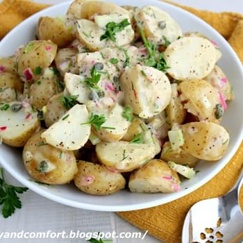 Lemon and Chive Warm Potato Salad