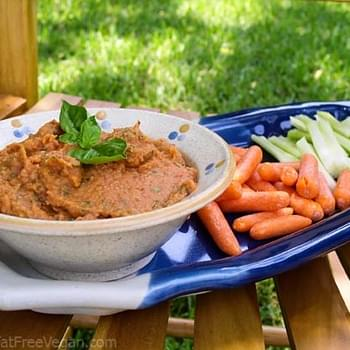 Roasted Tomato Bean Dip